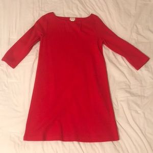 Red H&M Quarter Sleeve Dress size 4
